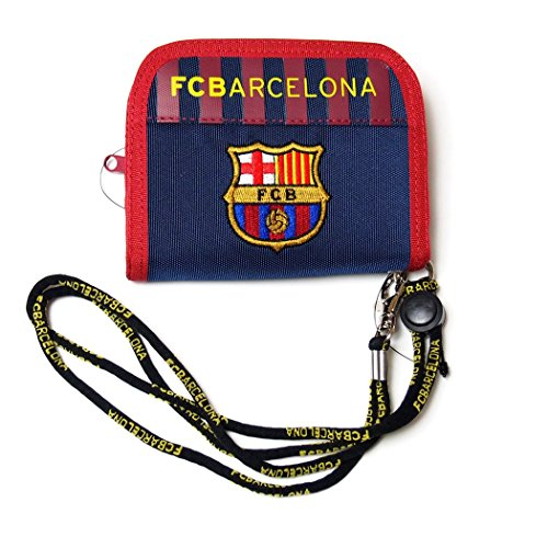 FC Barcelona(FCバルセロナ) 財布 ラウンドウォレット FCB-072