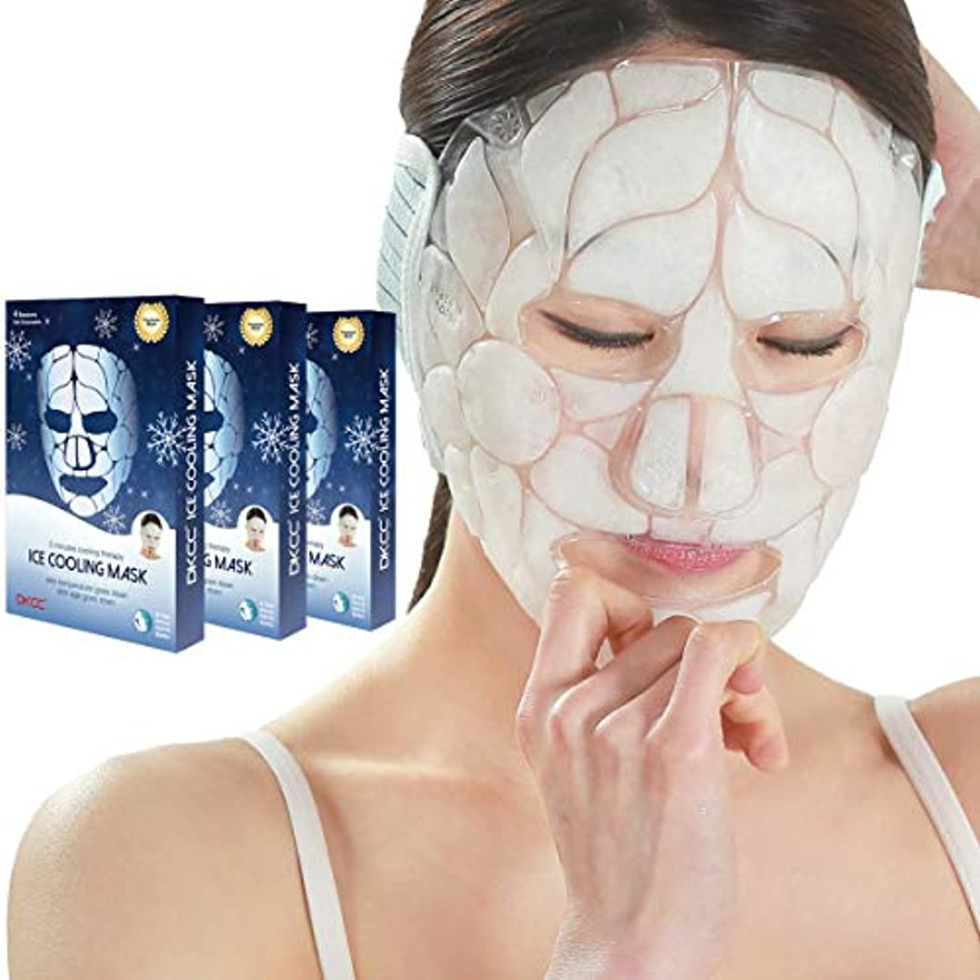 ふりをするハンサムカリキュラムDKCC アイスクーリングマスク