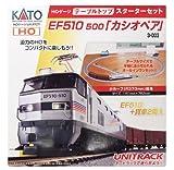 KATO HOゲージ テーブルトップスタータセット EF510 カシオペア 3-003 鉄道模型入門セット