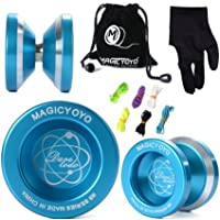 Magic YOYO N8 Alloy Aluminum Yo Yo Bearing Reel + 6 Strings + Glove [並行輸入品]