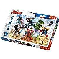 3682 マーベル アベンジャーズ ジグソーパズル 160ピース Marvel Avengers Puzzle [並行輸入品]