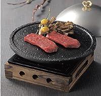 遠赤効果で商材を素早く、美味しく調理する遠赤溶岩風陶板