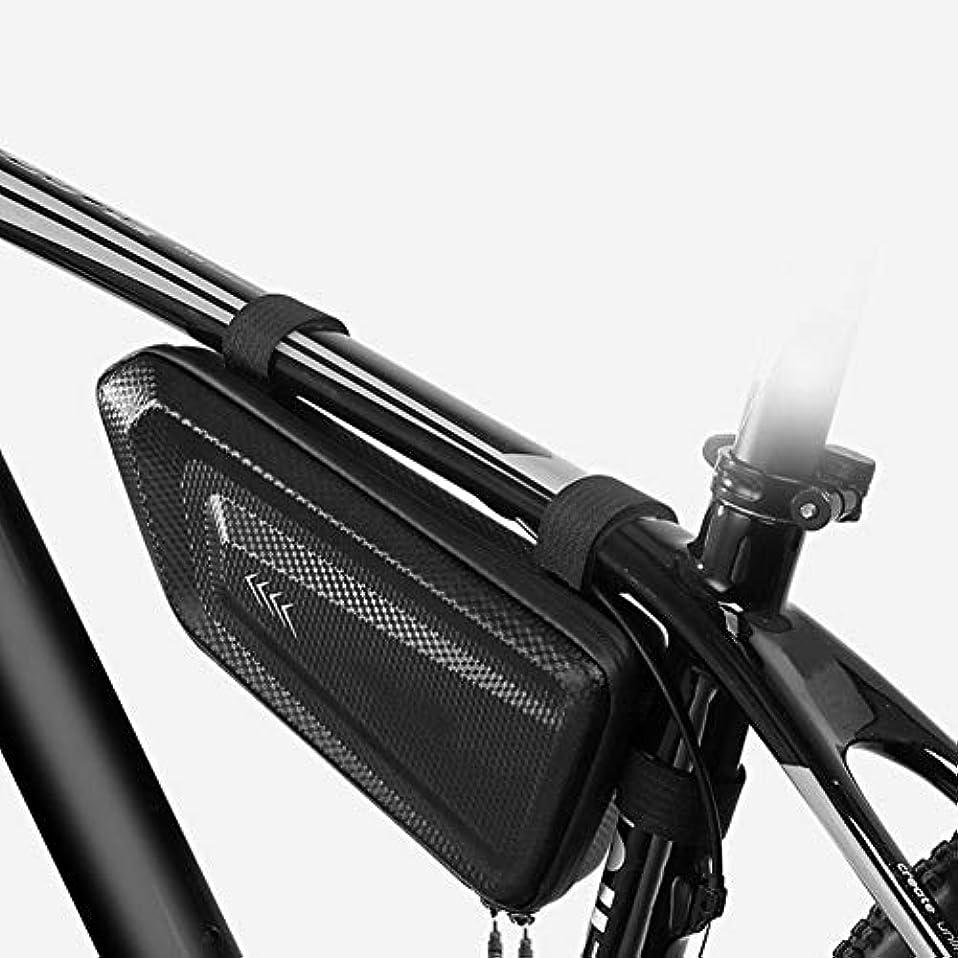 ルビー直面するジャングル自転車フロントチューブバッグ フレームバッグ トップチューブバッグ 撥水性 大容量 反射 取り付け簡単 サイクリング用