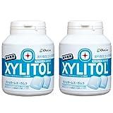 【歯科専用】 キシリトールガム ボトルタイプ 90粒×2本セット (クリアミント)