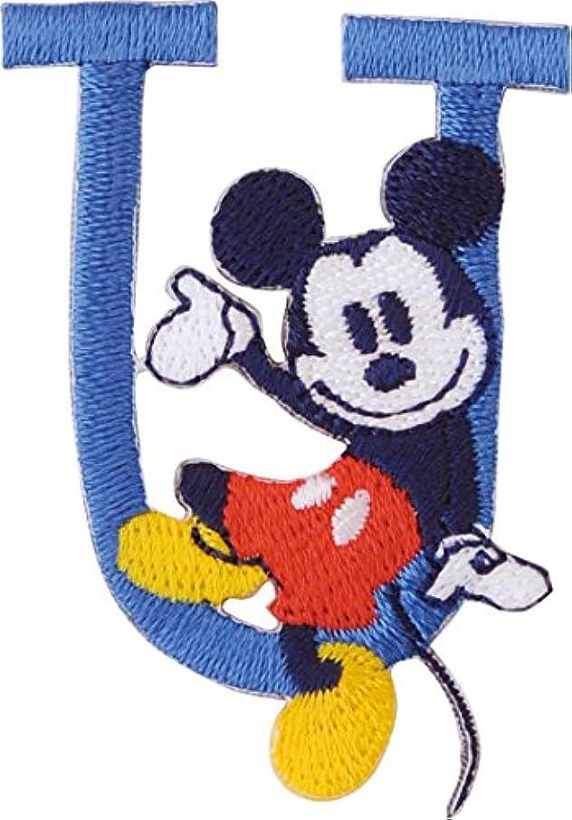 強化する感じ帆パイオニア アルファベット ワッペン ディズニー ミッキーマウス MY4001-MY317