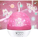 Night Light for Kids,Girls Boys Light for Bedroom,Carousel,Space,Star,Ocean,4 Theme Colorful Projector for 1-12 Girls Boys,Xm