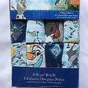 Disny ディズニー アナと雪の女王 ボーイズ ブリーフ 8枚セット パンツ 下着 (4T) オラフ スベン