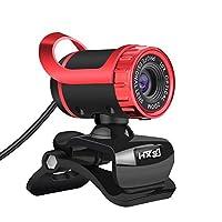 hXsJ Webカメラ480p HD lg-68Skype WebカメラナイトビジョンHDマイク付きUSBプラグと再生のためのWebカムCallling記録PCコンピュータラップトップMacのWindows XP/7/8/10/And Mac OS