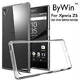 ByWin ケース Sony Xperia Z5 SO-01H/SOV32/501SO 対応 高品質ソフトケース 超薄クリア