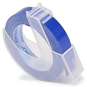 ダイモ テープ 幅9mm×3m巻 つやあり 青 DM0903BU