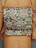 丸帯フォーマル金箔(着物の種類)
