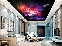 Wapel 3 次元の壁紙の天頂の星の天井は家の装飾 3 リビングルームの壁画 3 d の壁紙の壁画の d 壁紙モダン 絹の布 180x130CM