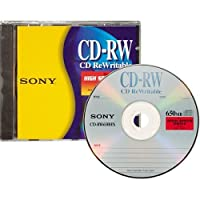 Sony CD-RW High Speed Rewritable Disc (One-Pack) [並行輸入品]