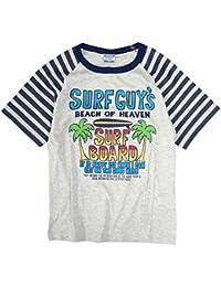 Tシャツ 子供 ジュニア 男の子 カジュアルプリント 半袖 ボーイズ 子供用Tシャツ