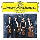モーツァルト:弦楽四重奏曲第17番「狩」&第19番「不協和音」