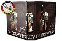 バインダー 2 Ring Binder Lever Arch Folder A4 printed old brewery