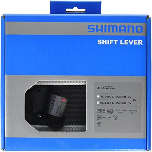 SHIMANO(シマノ) SL-2400 左右レバーセット シフトケーブル付 2X8S SL-2400