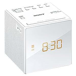 ソニー ワイドFMクロックラジオ (ホワイト)SONY ICF-C1-W