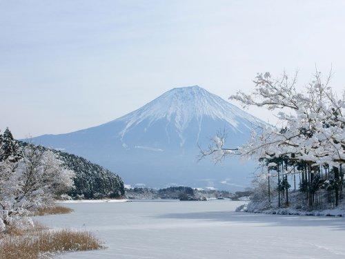風呂のタイルに貼る富士山の写真ー1