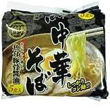 山本製粉 旨華楼中華そば魚介豚骨醤油 5食パック×6個
