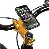 TiGRA Sport スマホホルダー バイク 自転車 スマホ ホルダー iPhone XR MountCase BIKE KIT for iPhone XR 【簡単2タッチで着脱】