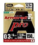 デュエル(DUEL) PEライン アーマード F+ Pro 150m 0.3号 ネオングリーン H4080-NM