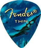 Fender ピック 351 SHAPE PREMIUM PICKS - 144 COUNT,THIN OCEA TURQUOISE