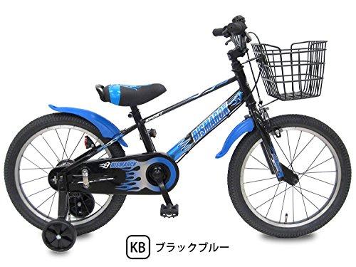 ビスマーク 補助輪付き 組み立て式 子供用自転車