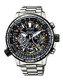 [シチズン] 腕時計 プロマスター エコ・ドライブGPS衛星電波時計 F990 SKYシリーズ CC7014-82E メンズ シルバー