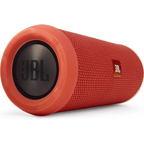 JBL FLIP3 Bluetoothスピーカー IPX5防水機能 ポータブル/ワイヤレス対応 オレンジ JBLFLIP3ORG【国内正規品】
