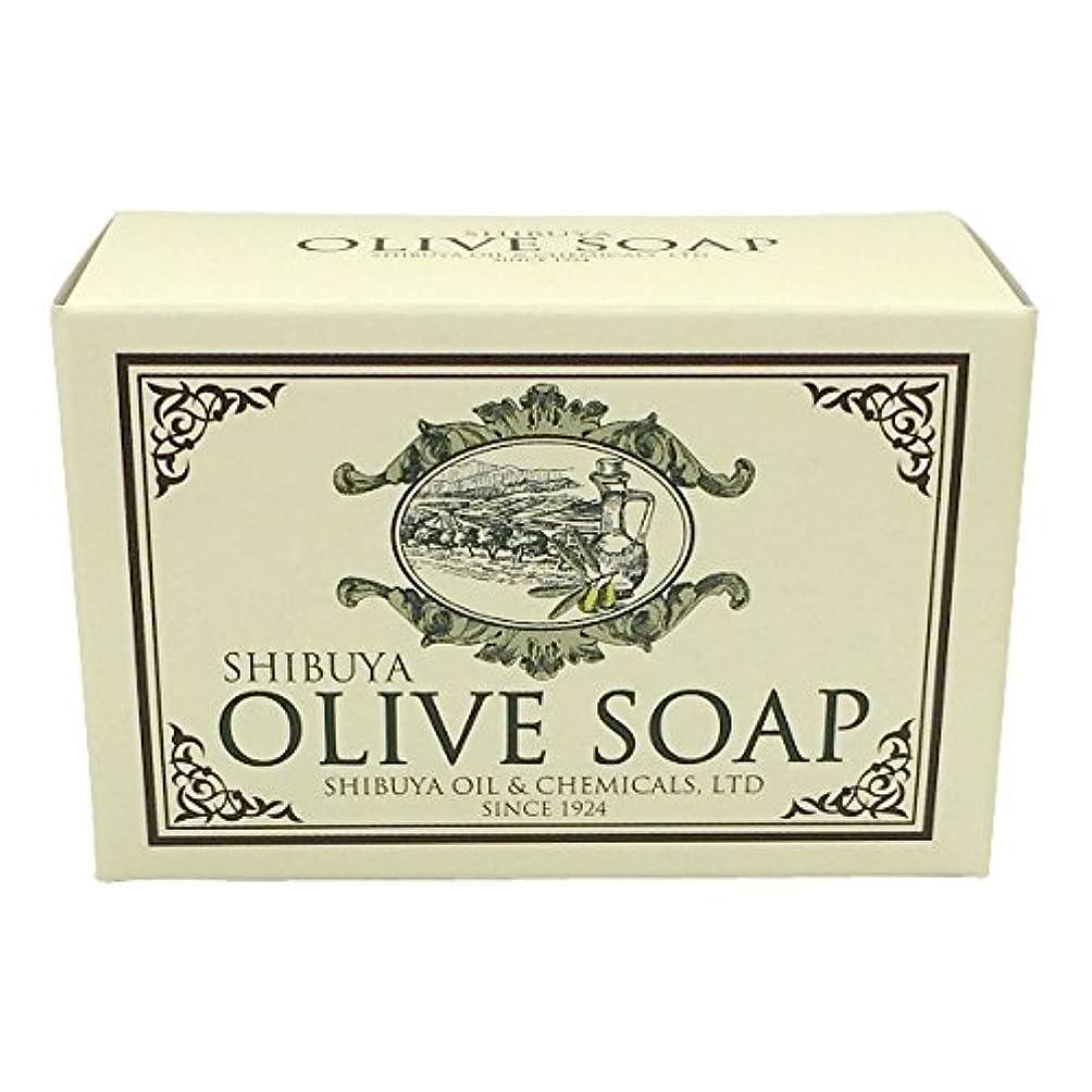 であること迷路不愉快SHIBUYA OLIVE SOAP (100G)