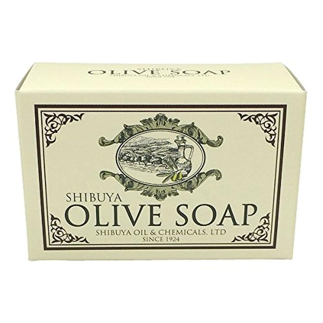 残る自体タオルSHIBUYA OLIVE SOAP (100G)