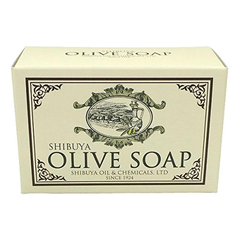 ピザ感謝している受信機SHIBUYA OLIVE SOAP (100G)
