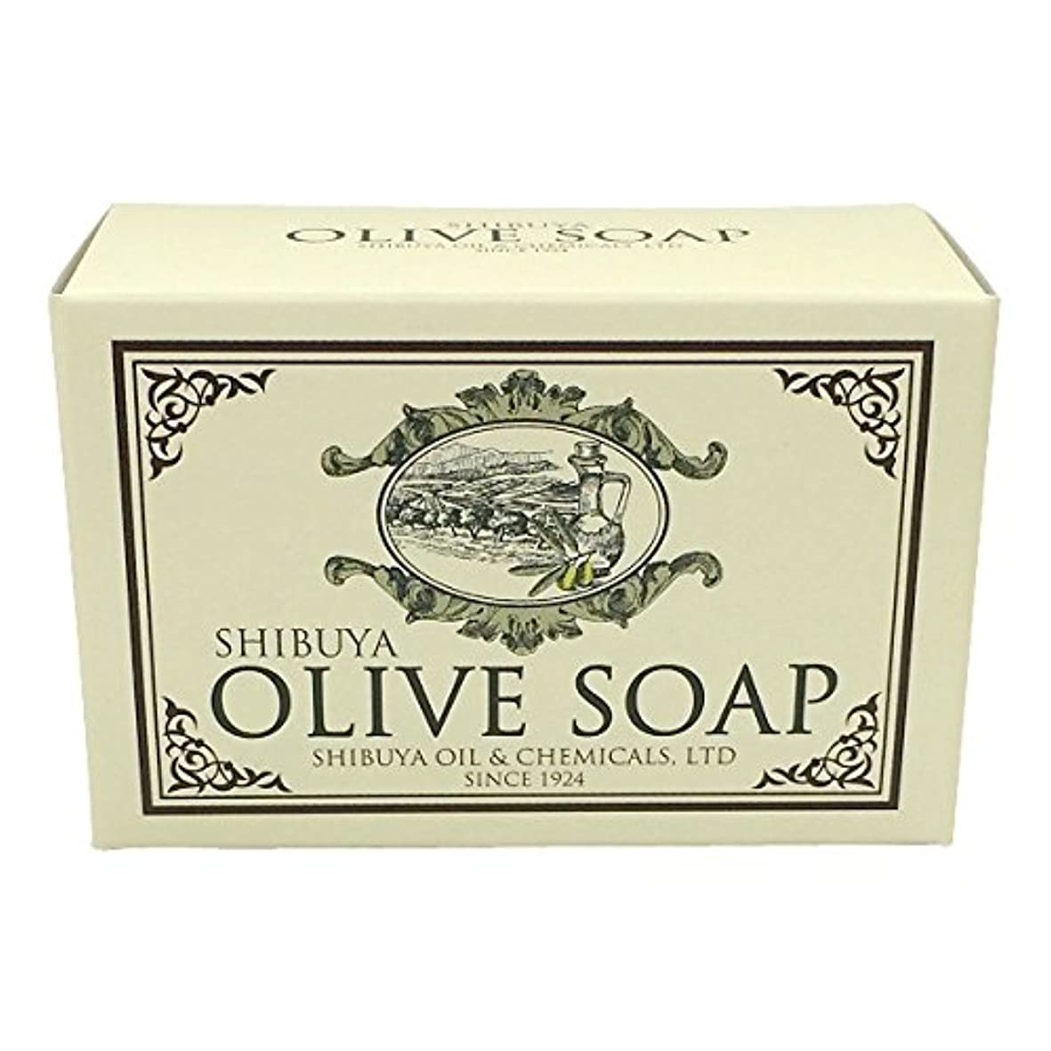 最愛のアンソロジーお香SHIBUYA OLIVE SOAP (100G)
