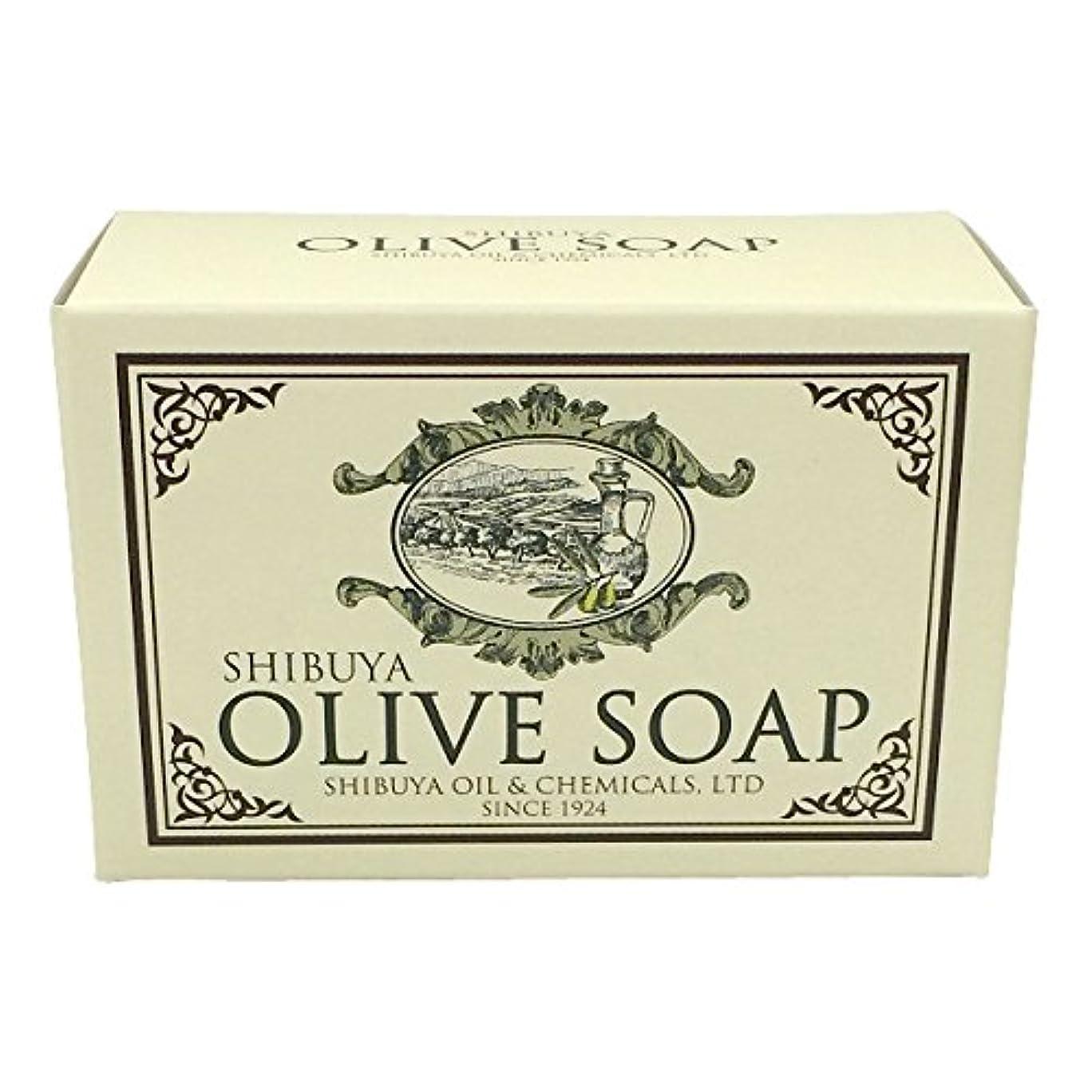 骨の折れる咳シャークSHIBUYA OLIVE SOAP (100G)