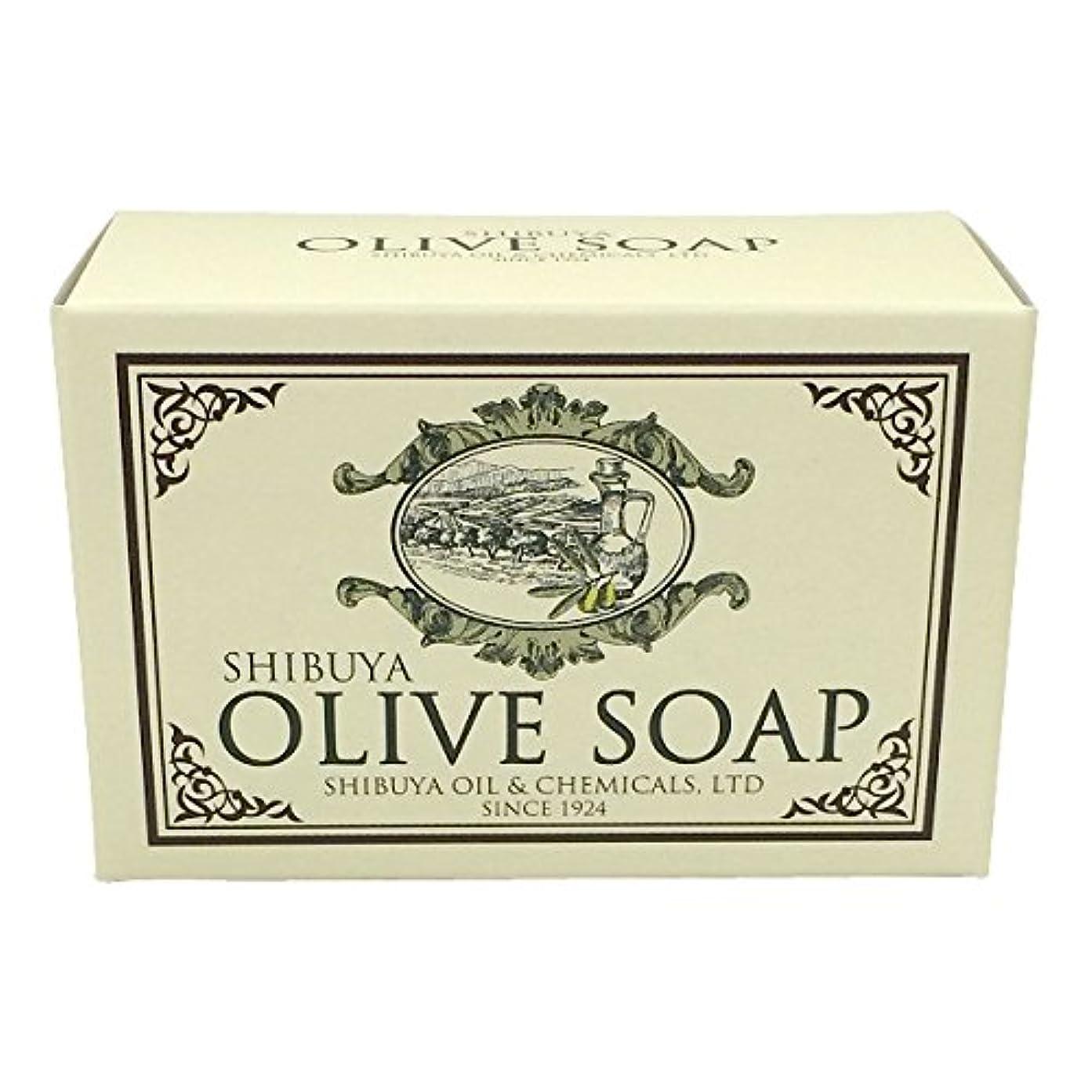 読みやすさタンク広々SHIBUYA OLIVE SOAP (100G)