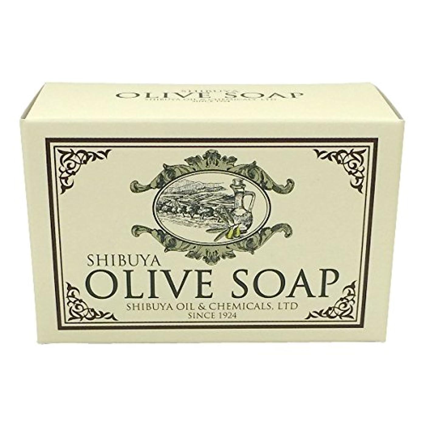 毛布ヒョウ危険なSHIBUYA OLIVE SOAP (100G)