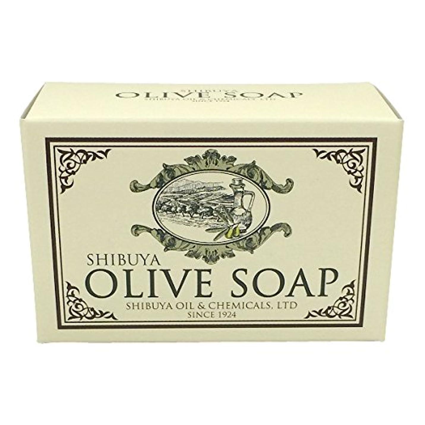 有毒なの前でコインランドリーSHIBUYA OLIVE SOAP (100G)