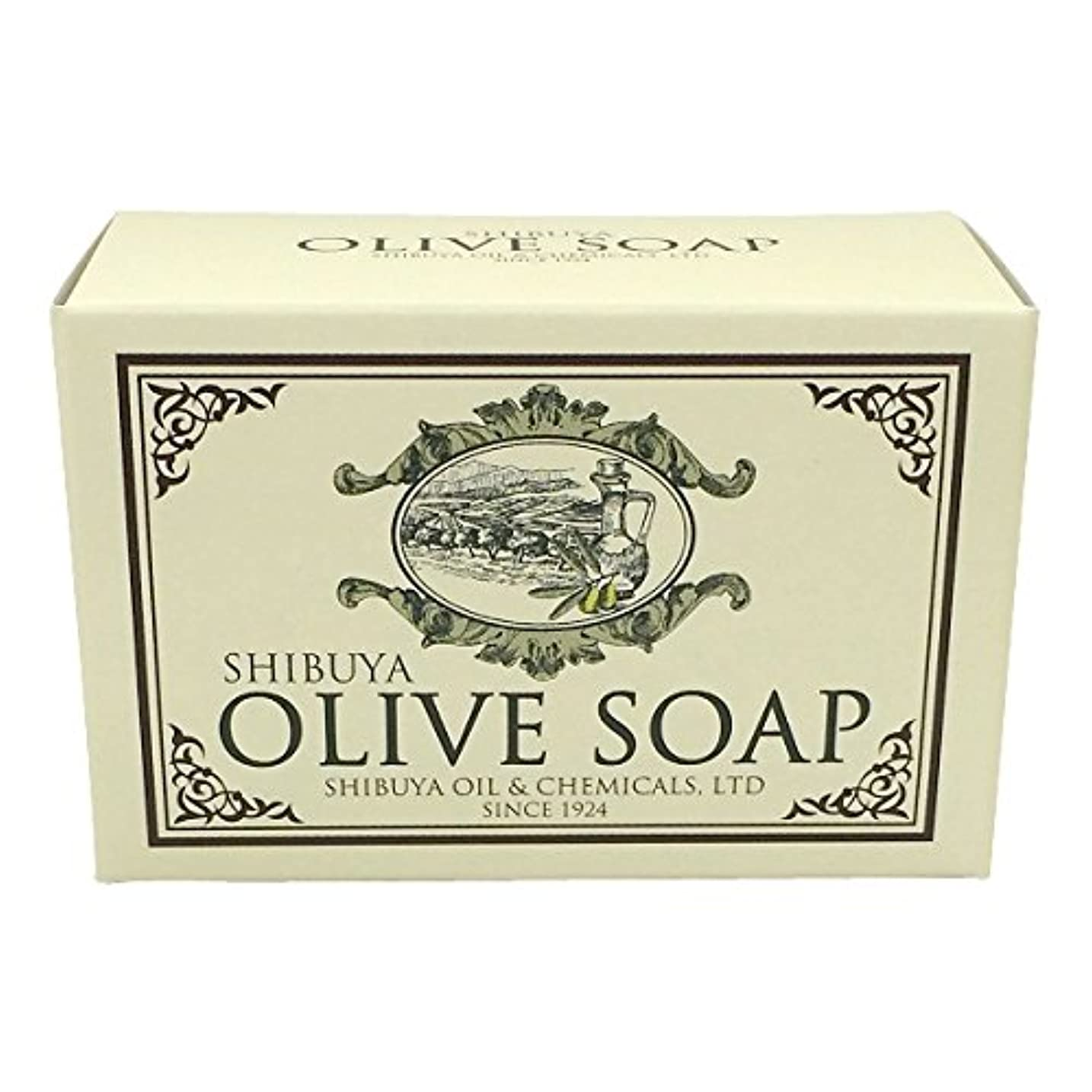 最も早いラオス人の面ではSHIBUYA OLIVE SOAP (100G)