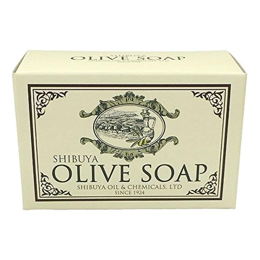 称賛タンパク質里親SHIBUYA OLIVE SOAP (100G)