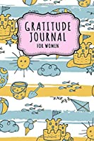 Gratitude Journal for Women: Beach Daily Gratitude Journal for Women and Girls | Undated 100 Days | 6 x 9