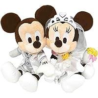 ペアぬいぐるみ ウェディングバージョン ミッキーマウス&ミニーマウス 結婚祝い 【ディズニーリゾート限定】