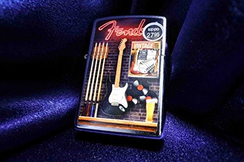Zippo Lighter:Fender at the Bar - Street Chrome