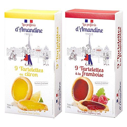 フランスお土産 プレフェレダマンディン タートレット 2箱セット