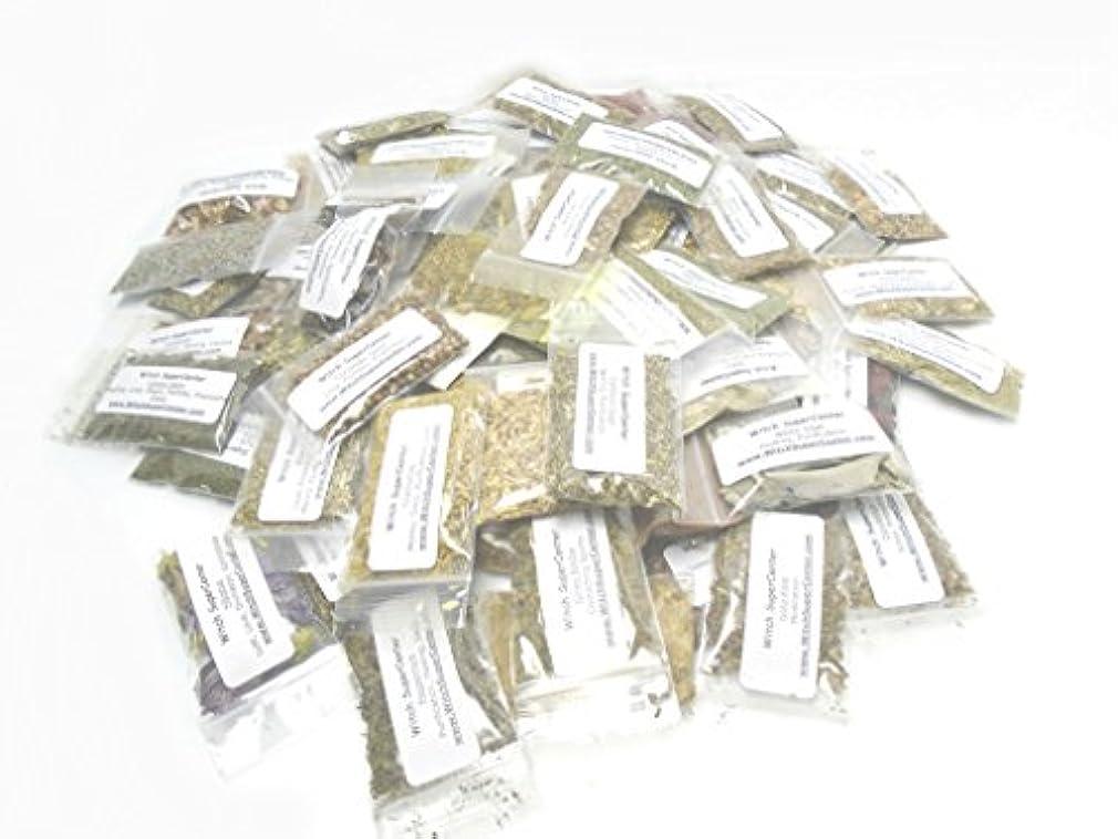 鰐比喩時々75 Magickal Incense Herbs Spell kit-ウィッカ、Witchcraft、Hoodoo by魔女Supercenter
