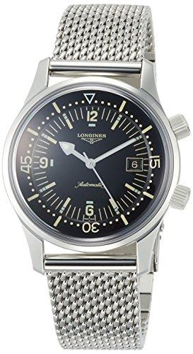[ロンジン] 腕時計 ロンジン レジェンドダイバー 自動巻き L3.674.4.50.6 メンズ 正規輸入品 シルバー