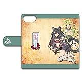 異世界魔王と召喚少女の奴隷魔術 手帳型スマホケース A (iPhoneX)