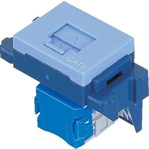 パナソニック(Panasonic) 情報モジュラジャック CAT6 ブルー NR3170L