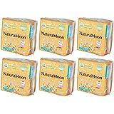 ナチュラムーン生理用ナプキン普通の日用 24個入×6袋セット
