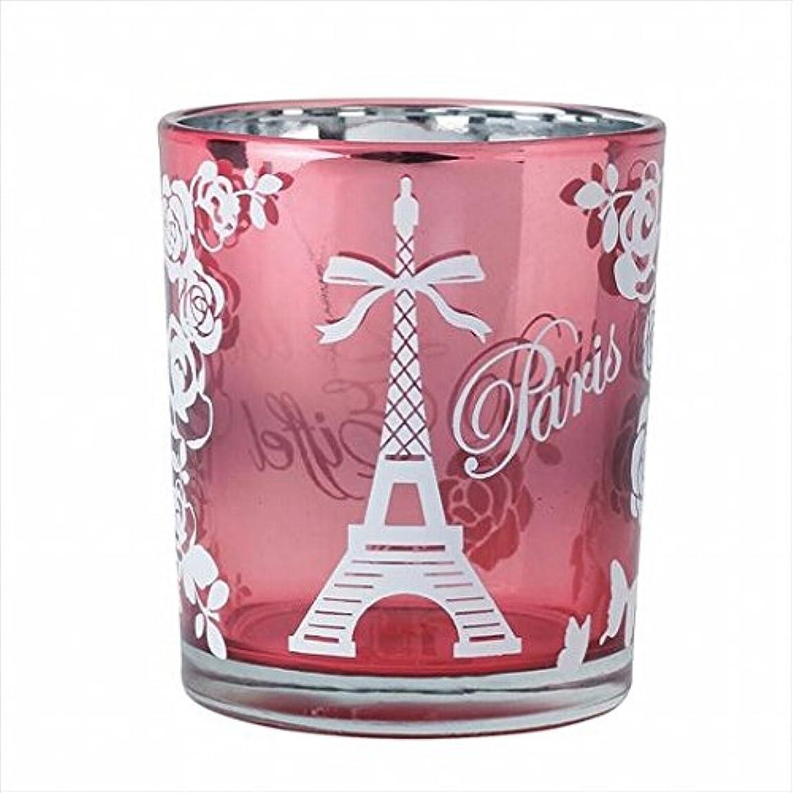 カラスメロドラマティックトランクライブラリカメヤマキャンドル(kameyama candle) エッフェル塔オーロラカップ 「 ピンク 」